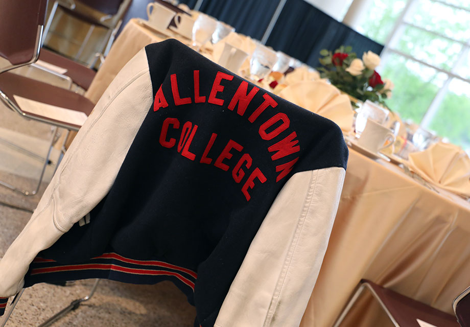 Alllentown College jacket