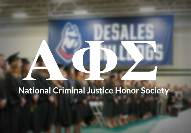 DeSales Criminal Justice Honor Society