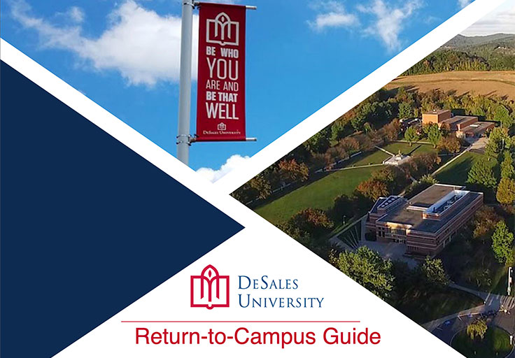 DeSales University COVID-19 Guidebook Cover