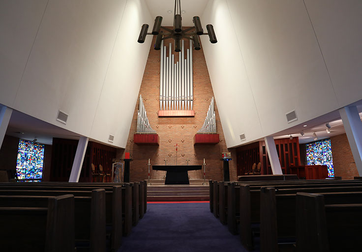 Connelly Chapel DeSales U Pipe Organ