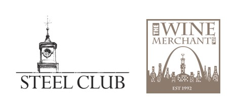 Steel Club and Wine Merchant Logos