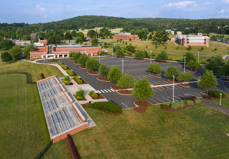 DeSales University Center Valley Campus Drone Shot