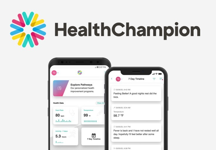 HealthChampion symptom screener