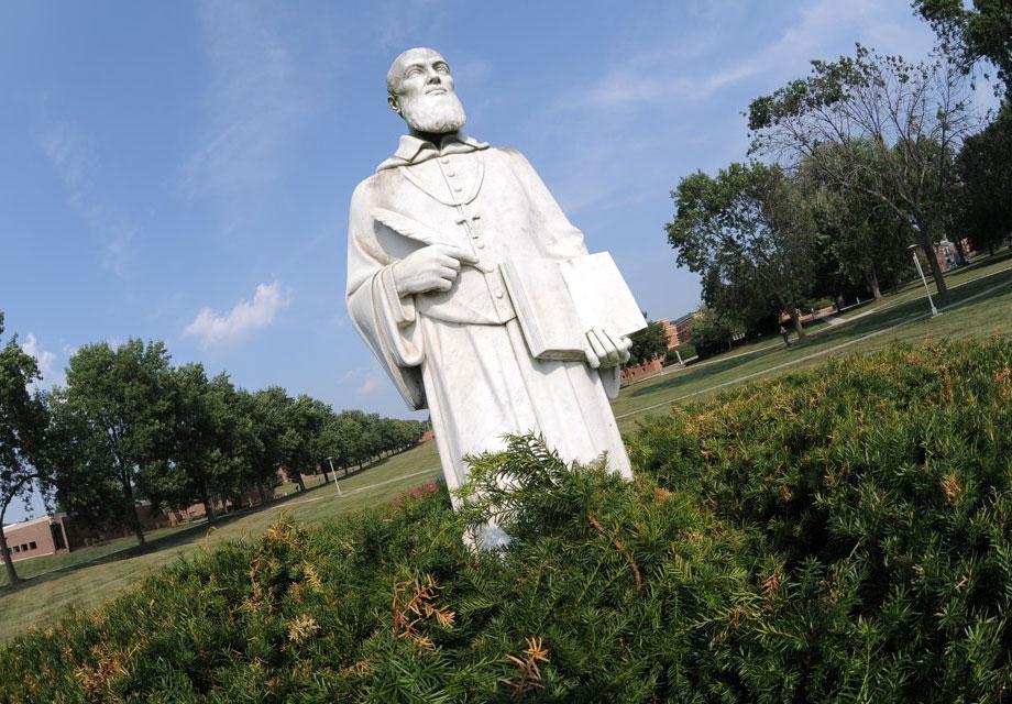 St. Francis DeSales Statue