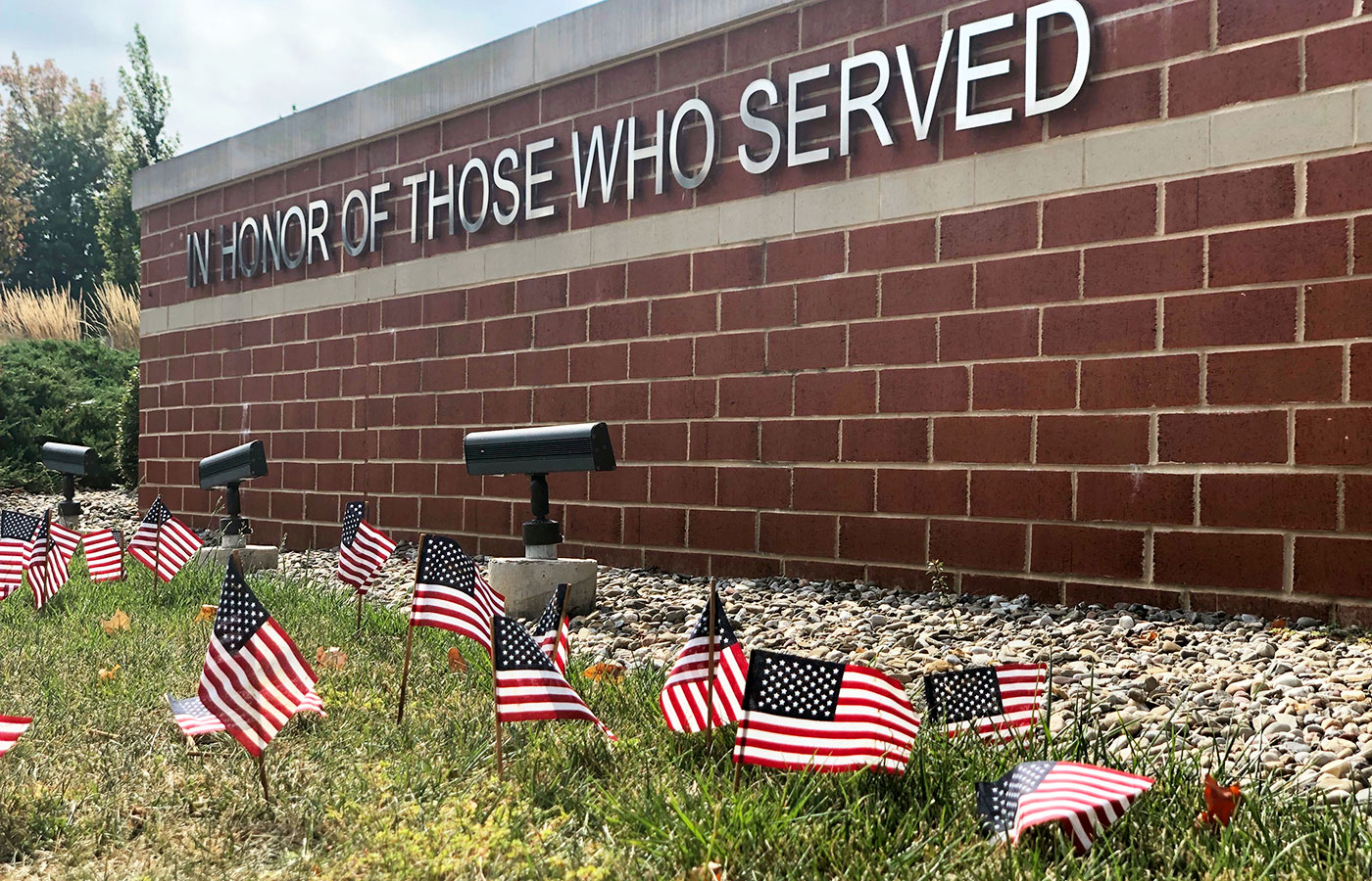 Veterans Memorial remembers September 11