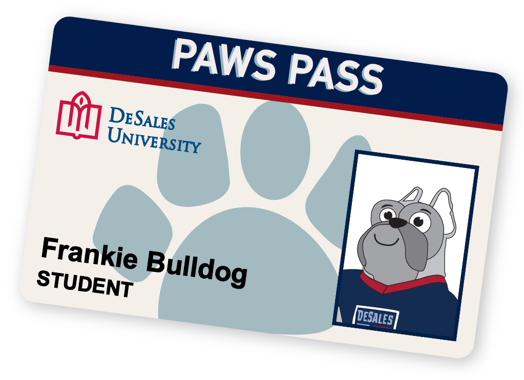 Paws Pass Student ID Card