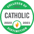 Catholic College of Distinction 20-21 Badge