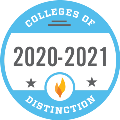 College of Distinction 20-21 Badge
