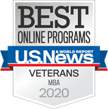 U.S. News Best Online Programs-Veterans-MBA_Badge- 2020