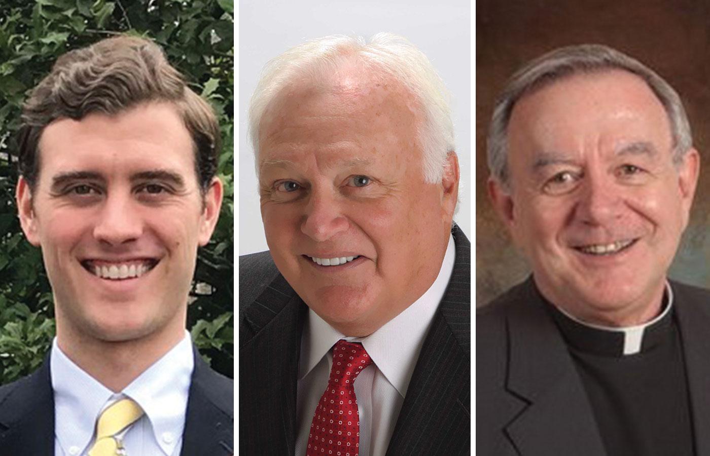 Keenan D Lynch, Frank J Dalicandro, Rev Francis W Danella OSFS
