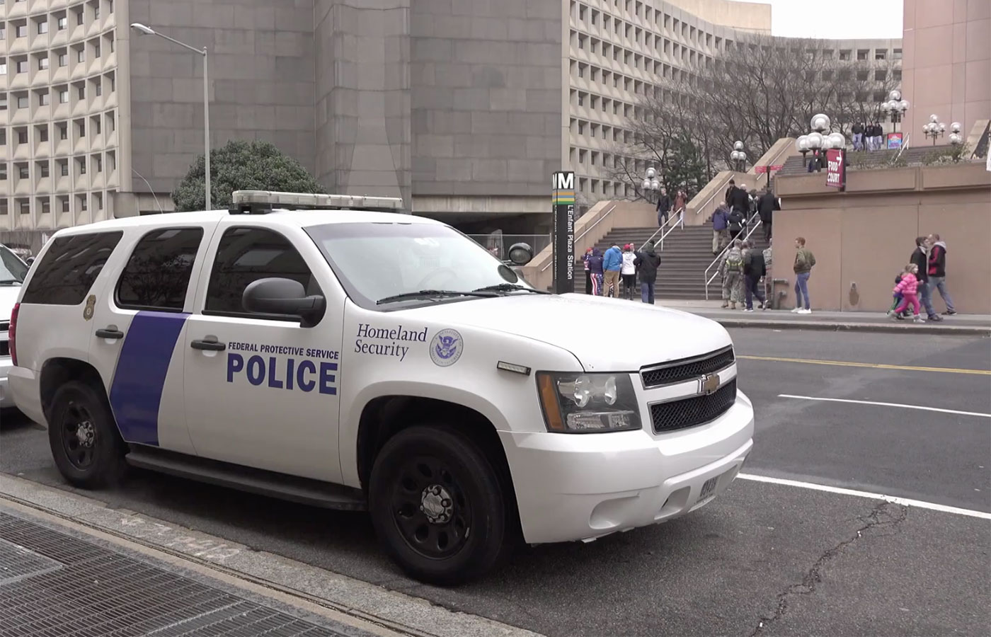 Homeland Security Vehicle