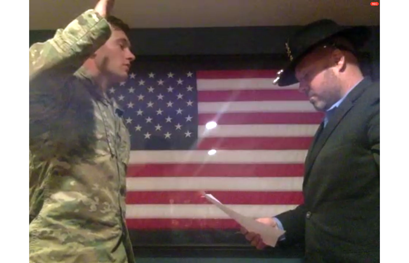 2020 Army Commissioning Keegan Coffield