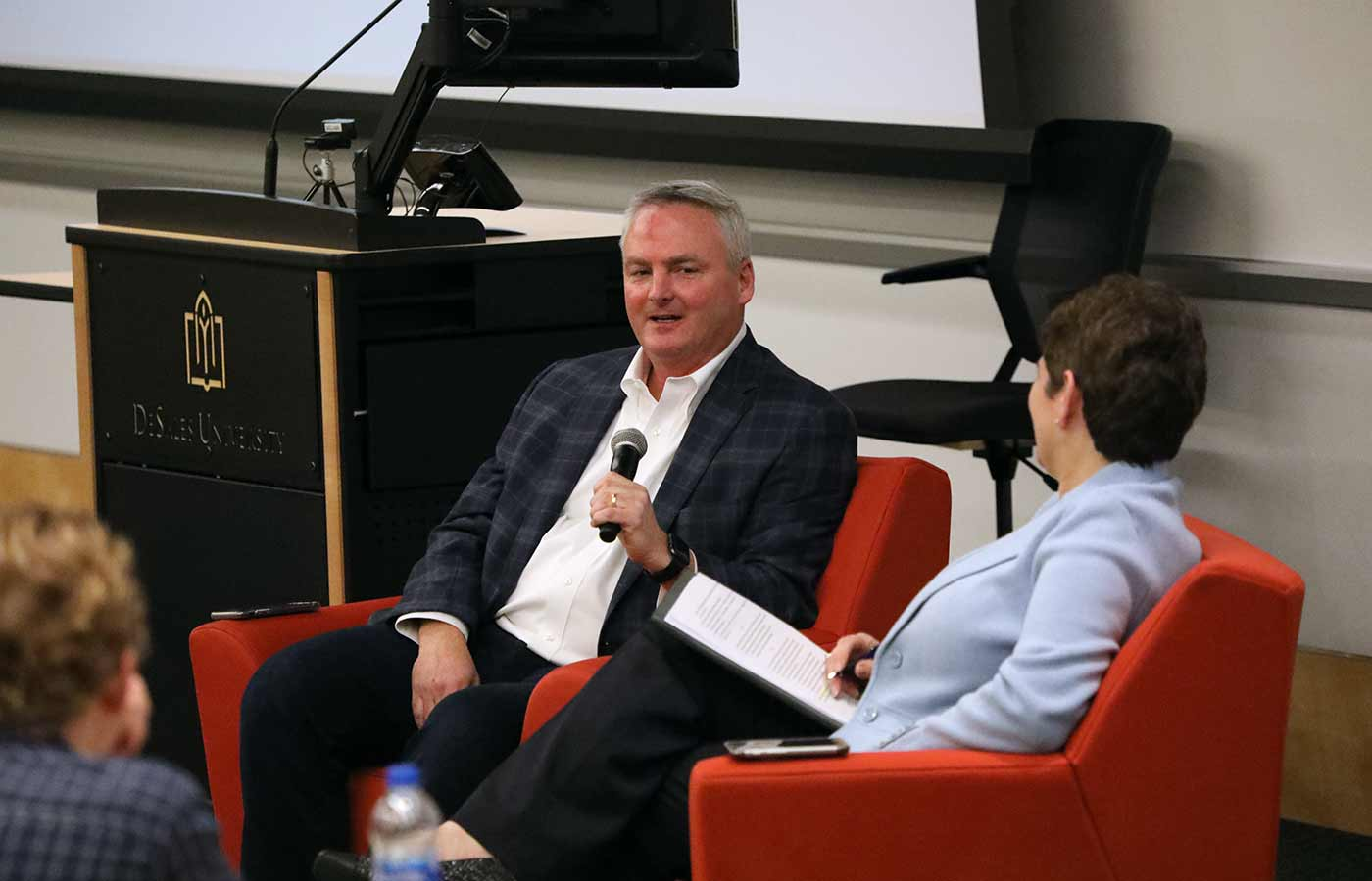 Executive Forum with Kevin Durkin