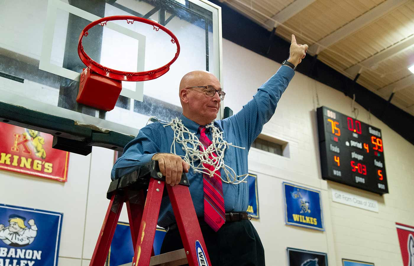 Coach Fred Richter