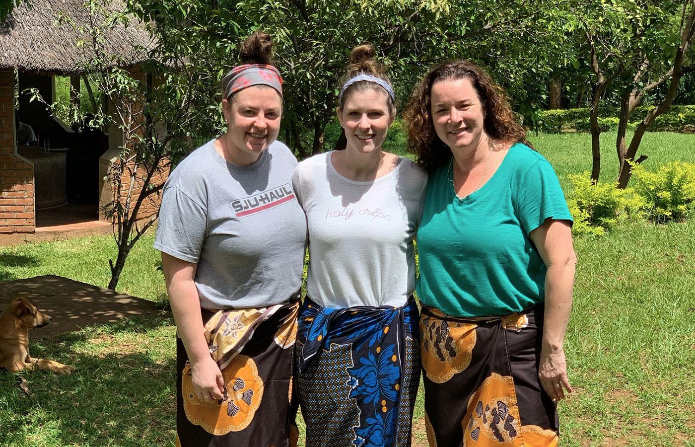 DeSales nursing alumnae in Africa