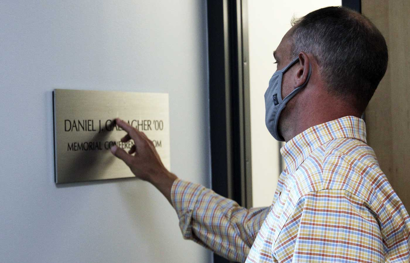 daniel gallagher memorial room dedication