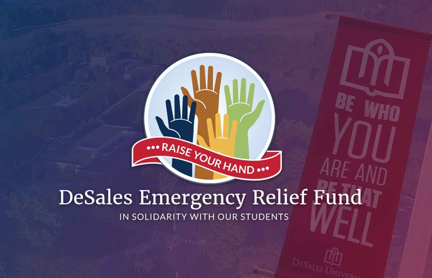 DeSales Emergency Relief Fund