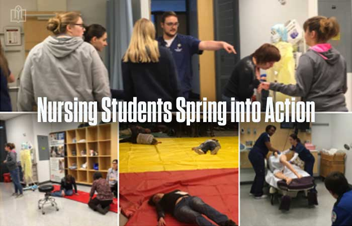 desales-nursing-students-spring-into-action
