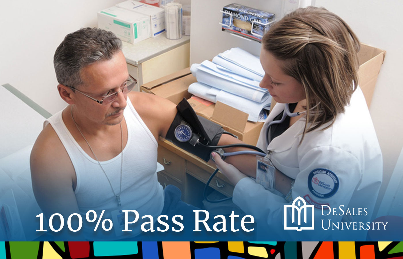 DeSales PA Program has 100% PANCE Pass Rate