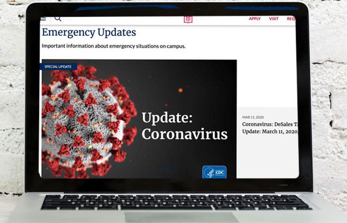 IntheNewsLaptop-corona virus