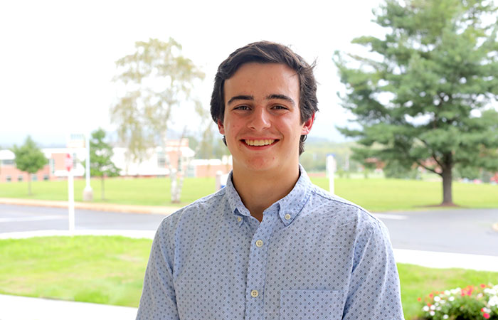 Michael Heck Class of 22 - Leadership Scholarship Winner