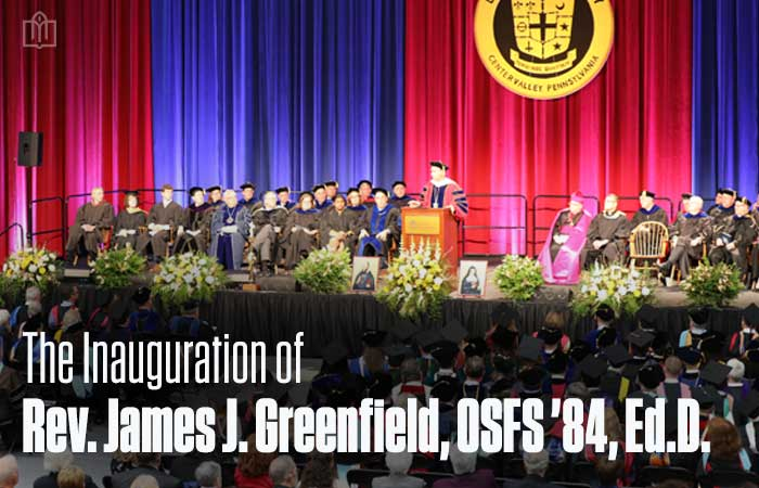DeSales Inaugurates Rev. James J. Greenfield, OSFS '84 as Fourth President