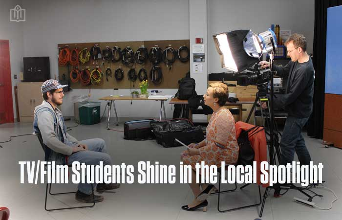 TV/Film Students Featured in PBS 39 Special