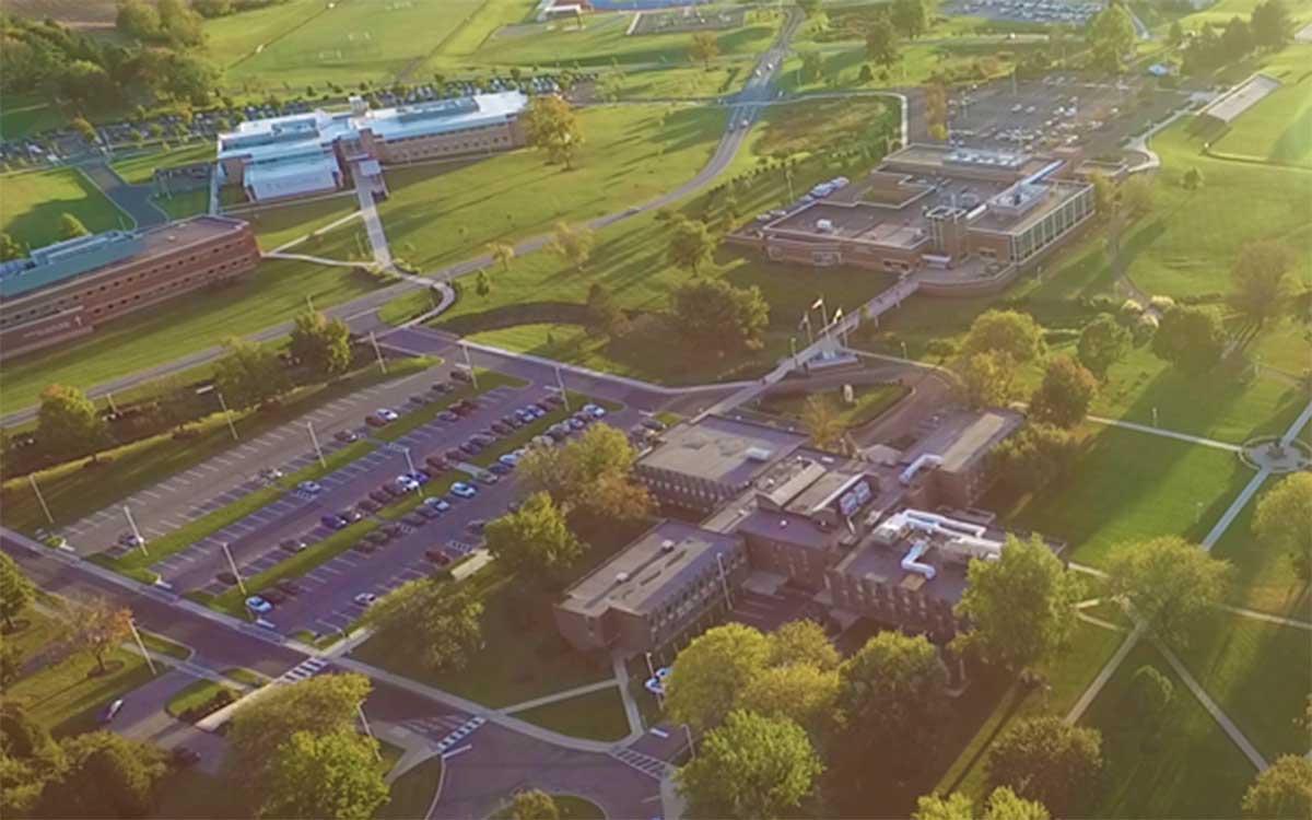 DeSales Campus Aerial View