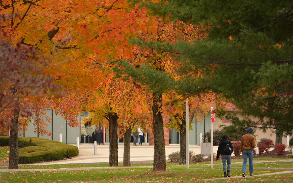 Fall is beautiful at DeSales University